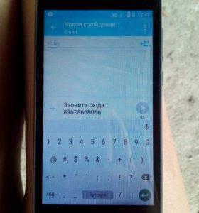 Телефон почти новый