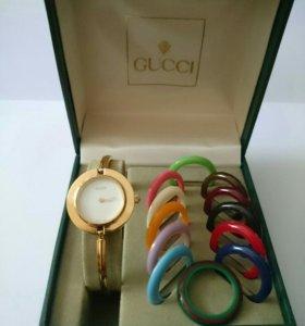 Часы женские GUCCI 1100 швейцарский механизм