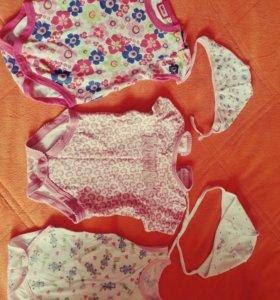 Бодики,шапочки для девочки