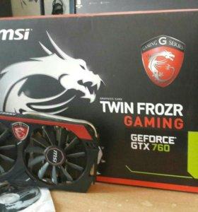 MSI GTX 760 2 g 256 bit