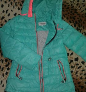 Куртка для девочки 6-8 лет
