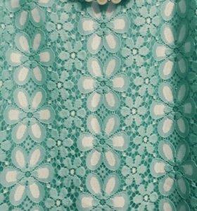 Платье летнее берюза