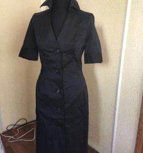 Платье рубашка 42