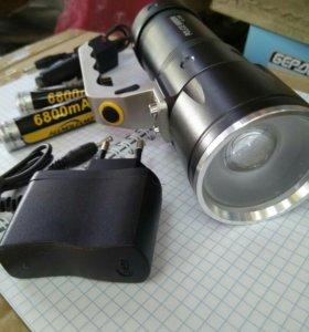 LED аккум. Фонарь яркий