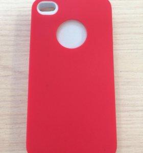Чехол силиконовый для iPhone 4/4S