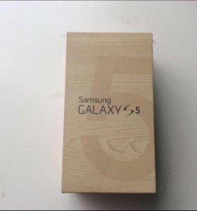 Коробка от Самсунг гэлыкси с 5