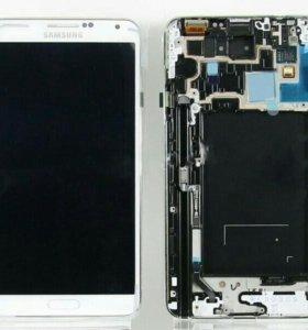 Дисплей Samsung N9005 (Note 3) модуль Белый