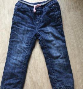 Утеплённые джинсы Mothercare 18/24 мес 92 см