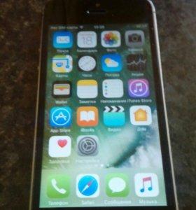 Продам телефон iPhone 5s на 16 гигов