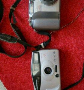 Продам два интересных фотоаппарата olimpus