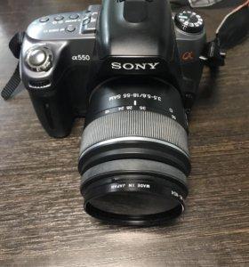Фотоаппарат Sony Alpha A550