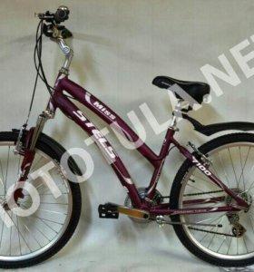 Велосипед miss STELS 7100 бордо