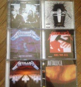 Диски Metallica