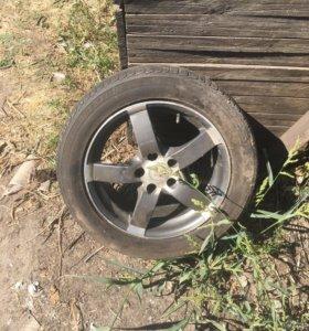Продам колесо в сборе на Опель астра Н