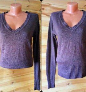 свитер темно-сиреневого цвета