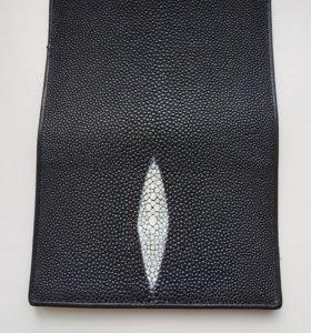 Обложка на паспорт из ската