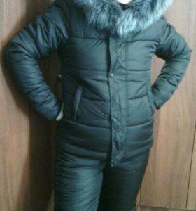 Зимний костюм комбез