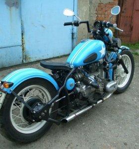 Продам боббер на базе мотоцикла Урал М62