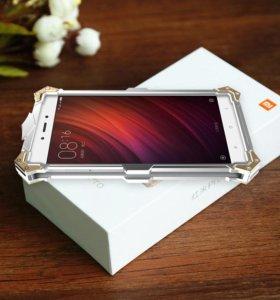 Чехол/Бампер ТОР IRONMAN для Xiaomi Редми Note 4x