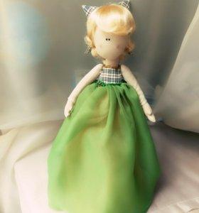 Интерьерная куколка Тильда