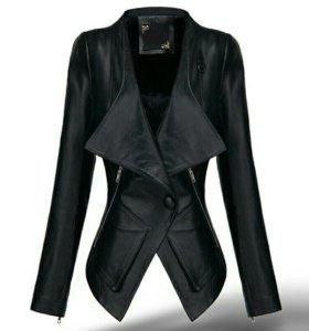 Куртка из кожи PU (новая)