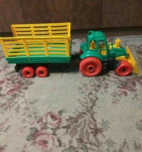 Машина трактор