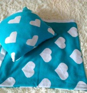 Детская подушка и одеяло