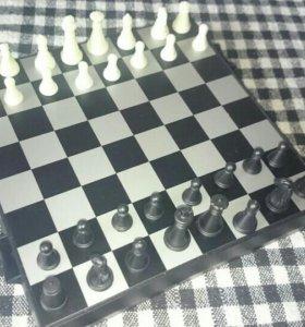 Шахматы, шашки, нарды ( магнитные)