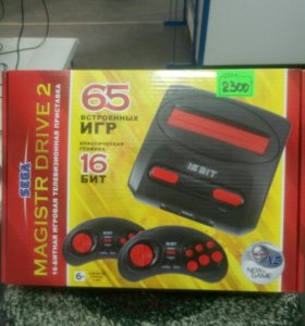 Сега(Sega)+65 игр