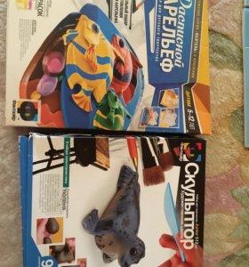 Новые Наборы для детского творчества, барельефы