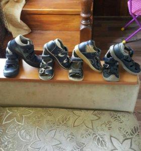 Обувь пакетом для мальчика