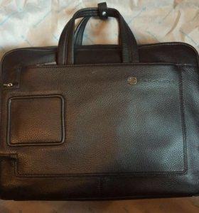 Кожаная сумка Piquadro Vibe