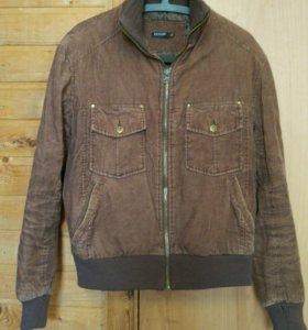 Куртка утепленная вельвет р.46-48