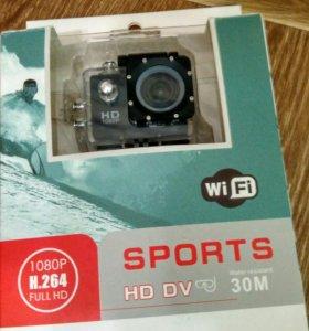GoPro в отличном состоянии Full HD 1080p