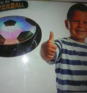 Летающий футбольный диск hoverball