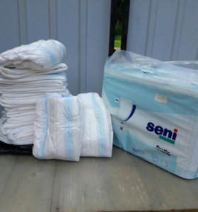 Пеленки и подгузники для лежачих больных