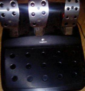 Игровой набор руль logitech g27racing wheel