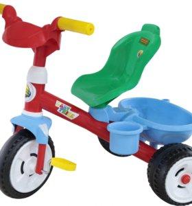 Велосипед 3-х колёсный детский