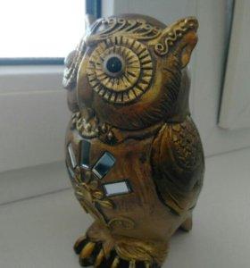 Декоративная фигурка совы