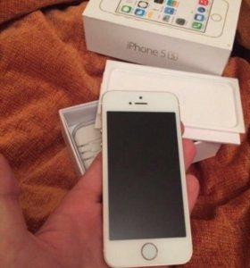 iPhone 5s 16g золотой