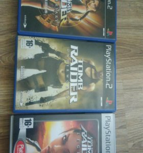 Tomb Raider  Lara Croft ps 2