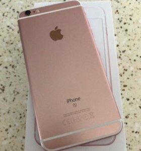 iPhone 6s Plus 16gg Rose Gold