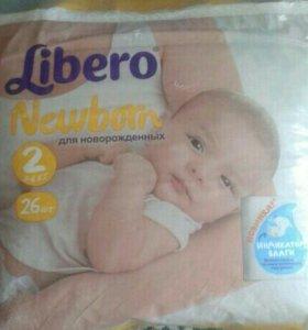 Памперсы Либеро от 3-6 кг