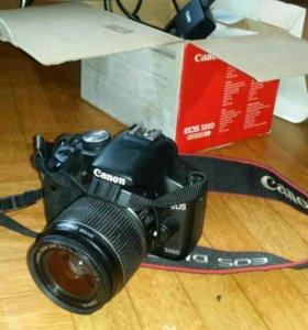 Зеркальный фотоаппарат Сanon eos 500d