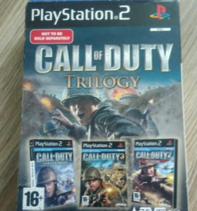 Call of Duty Trilogi ps 2
