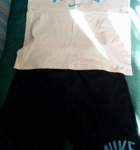 "Комплект ""Nike"" футболка+шорты 147см"