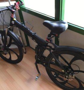 Продам горный велосипед на литых дисках.