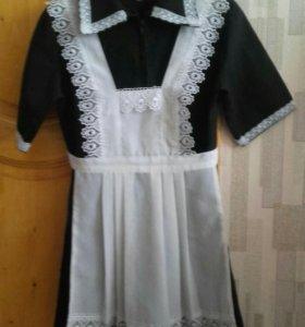 Школьное платье .