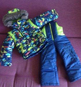 Комплект куртка-штаны зимний новый
