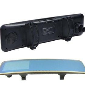 Зеркало заднего вида+регистратор Remax CX-02 1080P